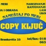 COPY KLJUC - IZRADA NAMESTAJA