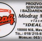 IDEAL-SERVIS VAGA